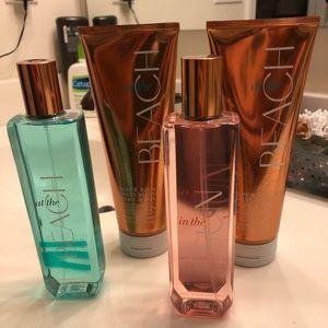 4 NEW B&BW bottles